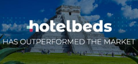 Hotelbeds outperforms
