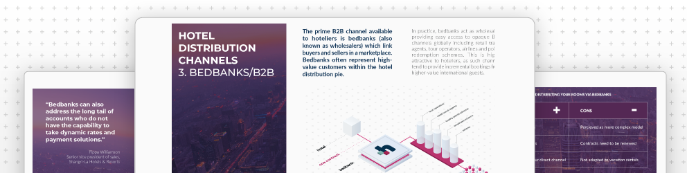 Understanding Hotel Distribution in 2020- A guide to how Bedbanks provide incremental growth